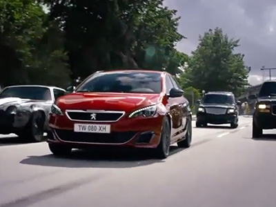 Peugeot 308GTI Push The Limits